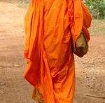 Monk's saffron Robe